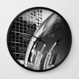 The Bean Reflections Wall Clock