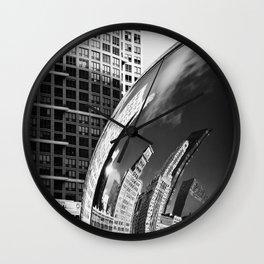 The Bean Reflections Wall Clock