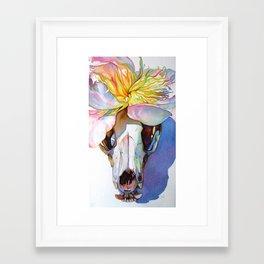 skullcap Framed Art Print