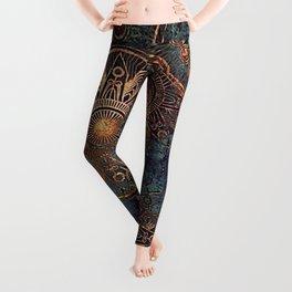 Steampunk Mandala Leggings