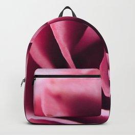 Pink Rose Close Up Backpack
