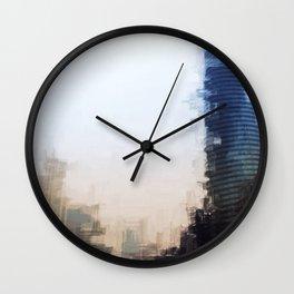 London Abstract Wall Clock