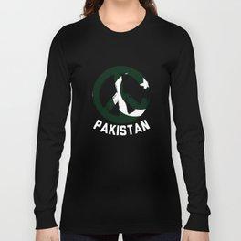 Pakistan Peace Sign Tee Long Sleeve T-shirt