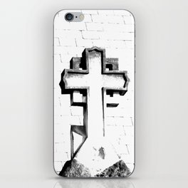 CROSS - Bl & Wh iPhone Skin