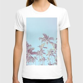 Vintage palm trees (blue) T-shirt