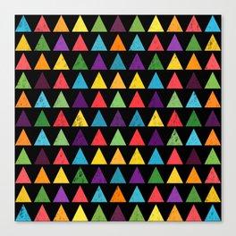 Lovely geometric Pattern VV Canvas Print