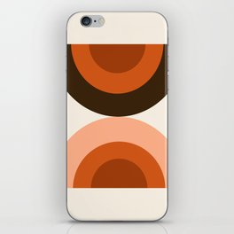 Dig It - minimalist 70s style retro vibes throwback poster minimal art decor iPhone Skin