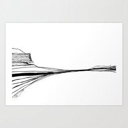 Landscape 111511 Art Print