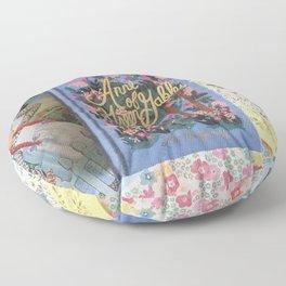 Anne of Green Gables Books Floor Pillow
