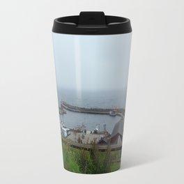 Kaseberga Harbour  Travel Mug