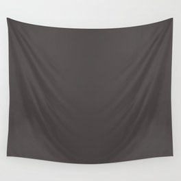 Solid Black Cow Color Wall Tapestry