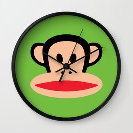 Monkey by Paul Frank Wall Clock