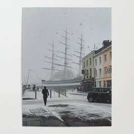 The Clipper in the snow Poster
