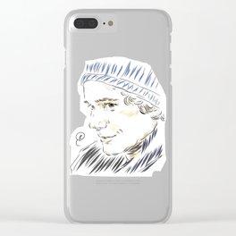 Isak winter Clear iPhone Case