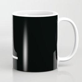 Flipped over cross Coffee Mug