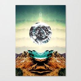 Orbital Sea Canvas Print