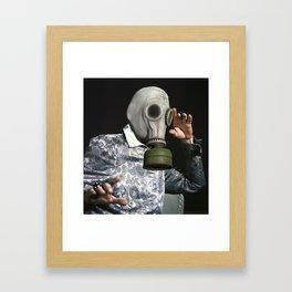 Life's a Gas Framed Art Print