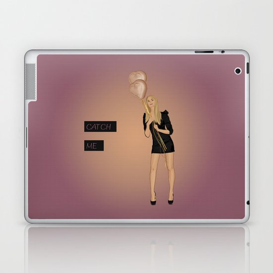 Catch Me Laptop & iPad Skin