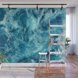 Ocean is shaking Wall Mural