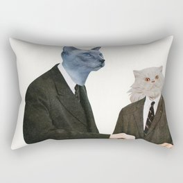 Cat Chat Rectangular Pillow