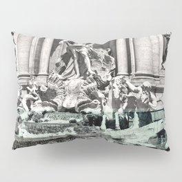 Trevi Fountain Rome Italy Pillow Sham