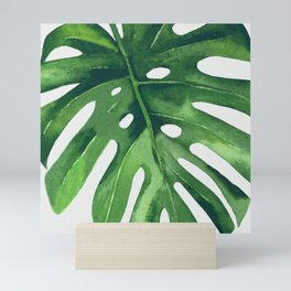 Monstera Leaf Mini Art Print