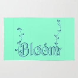 Just one Word: Bloom Rug