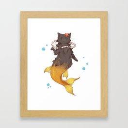 Catmaid Framed Art Print