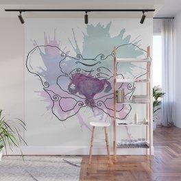 Uterus Splat Wall Mural