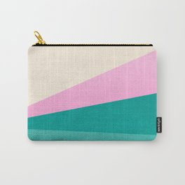 Stripe XIV Pink Summer Sunrise Carry-All Pouch