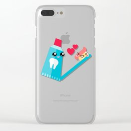 Partners in crime Clear iPhone Case