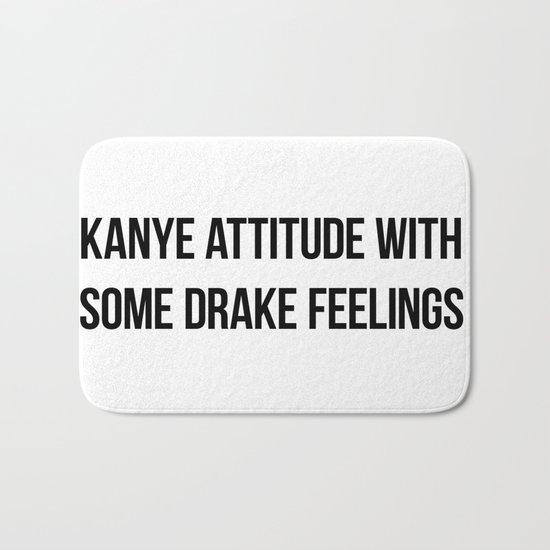 Attitude and Feelings Bath Mat