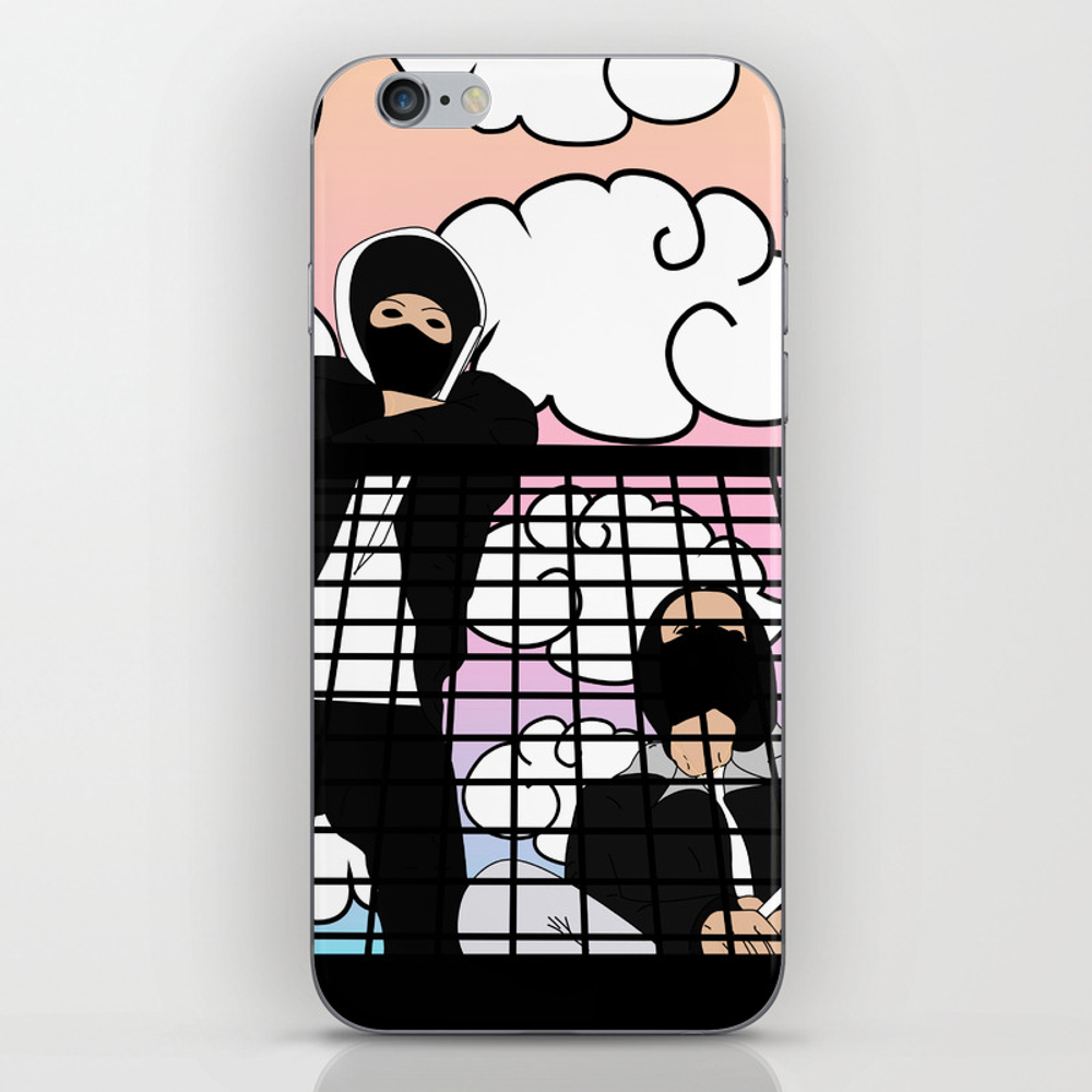 Us Against Them Iphone & Ipod Skin by Degun PSK7774269