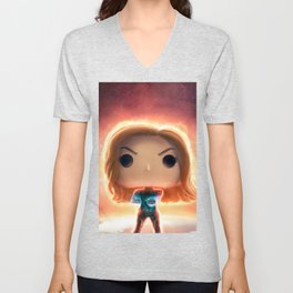 Funko Captain M Unisex V-Neck