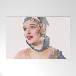 Lina Lamont - Jean Hagen - Singin' in the Rain - Watercolor Welcome Mat