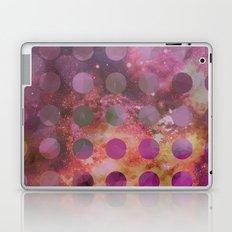 Galaxy in Purple Laptop & iPad Skin