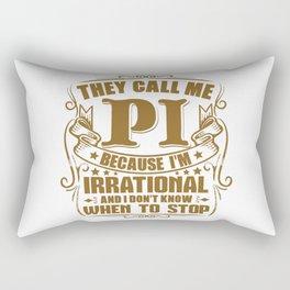 Funny Pi Day Math Geek Science Gift Rectangular Pillow