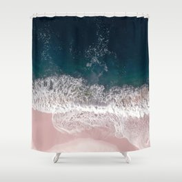 Sands of Pearly Pink Shower Curtain