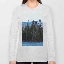 Blue Mountain River Long Sleeve T-shirt