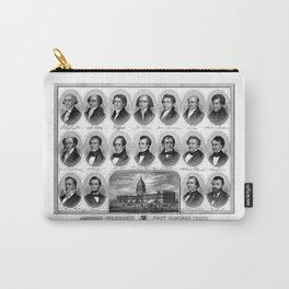 American Presidents - First Hundred Years Carry-All Pouch