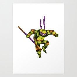 Bo Staff Turtle Art Print