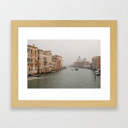 Venezia (Italy) - Canal Grande Framed Art Print