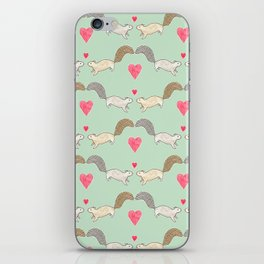 Squirrel Love iPhone Skin