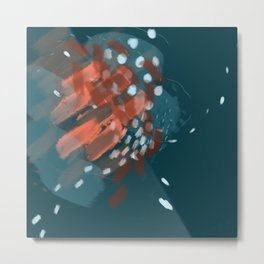 Squashed Fears Metal Print