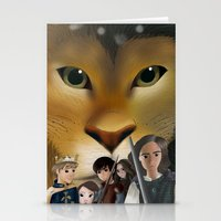 narnia Stationery Cards featuring Narnia by BellaG