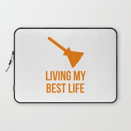 Living My Best Life Costume Witch Design Laptop Sleeve