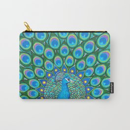 Showing My Colors - Peacock Carry-All Pouch