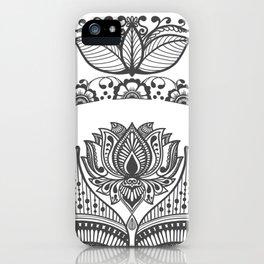 Mandala Art Henna Art Inspired iPhone Case