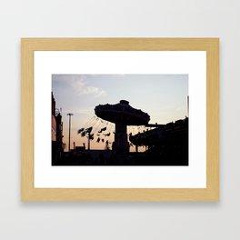 CNE Sunset Framed Art Print
