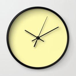 Sunny yellow. Wall Clock